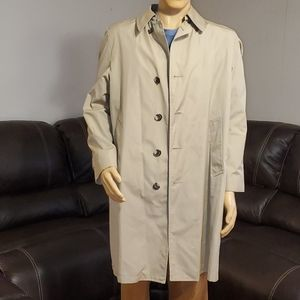 Men's London fog maincoats coat size 38 regular